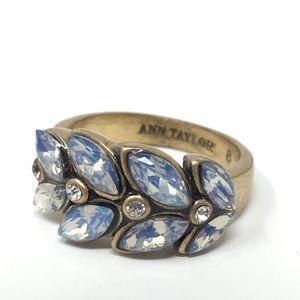 Ann Taylor Leafs Gold Tone Ring 8